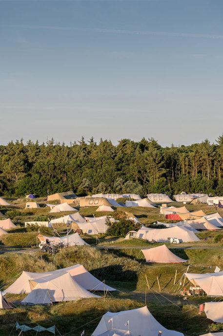 De Waard tenten op de duin